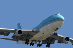 Boeing 747 photographie stock
