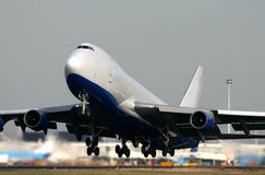 Boeing 747-400F Imagens de Stock Royalty Free
