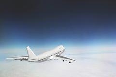 Boeing 747 en cielo Fotografía de archivo libre de regalías