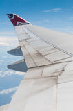 Boeing 747 wing Stock Photography