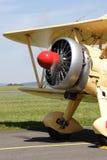 Boeing 75 e stearman fotografia royalty free