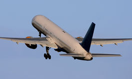 Boeing 757. A Boeing 757 taking off Royalty Free Stock Image