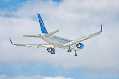 Boeing 757 of Finnair Stock Photo