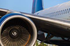 Boeing 757 lijnvliegtuig Stock Foto's