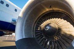 Boeing 757 trafikflygplan Arkivfoto