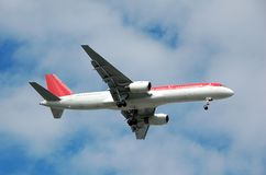 Boeing 767 passagiersstraal Royalty-vrije Stock Afbeelding
