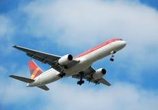 Boeing 767 passenger jet airplane Stock Image