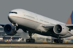 Boeing 777 Photos stock