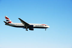 Boeing 777 stock photos