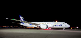 Boeing 787 Photographie stock