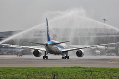 Boeing 787 Dreamliner Images stock
