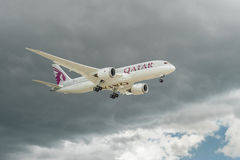 Boeing 787 Dreamliner Royalty Free Stock Photography