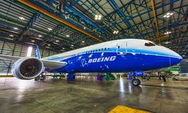 Free Boeing 787 Dreamliner Dublin Airport Stock Photography - 160398012