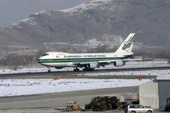 Boeing 747 Photo libre de droits