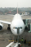 200 777 boeing Royaltyfri Foto