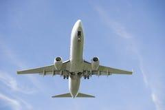 Boeing aérien plat photo libre de droits