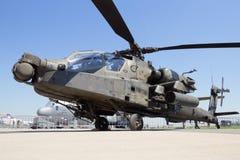 Boeing ah-64 επιθετικό ελικόπτερο Apache Στοκ φωτογραφία με δικαίωμα ελεύθερης χρήσης