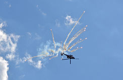 Boeing AH-64 Apache Zdjęcia Stock