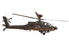 Boeing AH-64 Apache Royalty Free Stock Photography