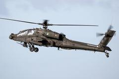 Boeing AH-64D Apache śmigłowiec szturmowy Zdjęcia Stock