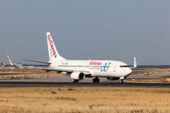 Boeing 737-800 of the Air Europa Royalty Free Stock Photo
