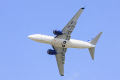 Boeing 737 airplane Royalty Free Stock Photos