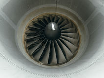 Boeing 767 at the airport. Stock Photography