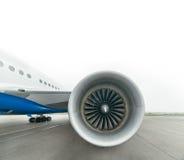 Boeing 767 all'aeroporto Immagine Stock Libera da Diritti