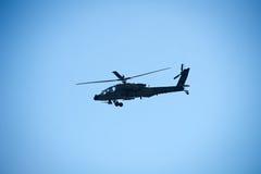 Boeing Apache AH-64 för USA-armé helikopter Arkivfoto