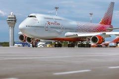 Boeing 737 Aviolet Imagem de Stock Royalty Free