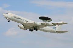 Boeing AWACS E-3A Fotografia Stock