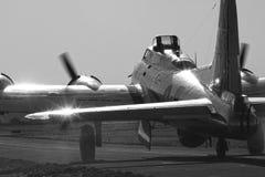 Boeing B-17 flygfästning Royaltyfri Foto