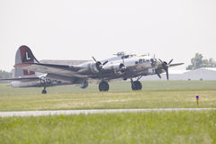 Boeing B-17G Flying Fortress royalty free stock images