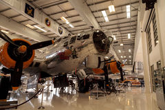 Boeing B-17 Flying Fortress airplane called the Fuddy Duddy Stock Photography
