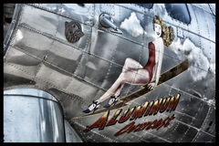 Boeing B-17 Flying Fortress Stock Photo