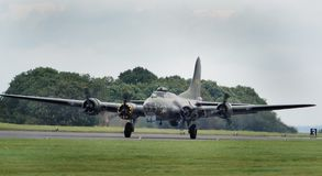 Boeing B17G Flying Fortress Stock Image