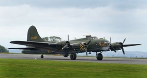 Boeing B17G Flying Fortress Royalty Free Stock Photos