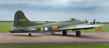 Boeing B17G Flying Fortress Stock Photography
