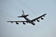 Boeing B-52H 60-0010/LA Royalty Free Stock Photo