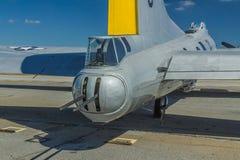 Boeing B-17 ogonu armatnika wieżyczka Obrazy Royalty Free