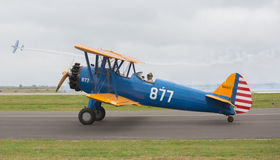 Boeing B75 Stearman Royalty Free Stock Photo
