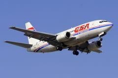 Boeing B737-55S Lizenzfreie Stockfotografie