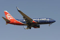Boeing B737-76N Stock Images