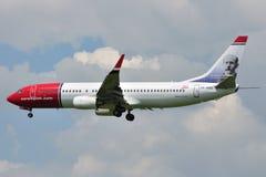 Boeing B737-86N Στοκ Εικόνες