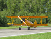 Boeing B75 Stearman Stock Images