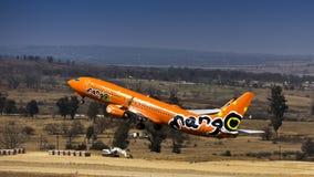 Boeing 737-8BG - Mangue - ZS-SJO Photo stock