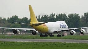 Boeing 747 Biegunowy Lotniczy ładunek przyjeżdżający zbiory