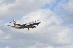 Boeing 737 436 British airways Arkivfoto