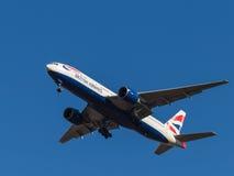 Boeing 777, British Airways Stock Photos