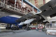 Boeing 747 c-Controle Royalty-vrije Stock Fotografie